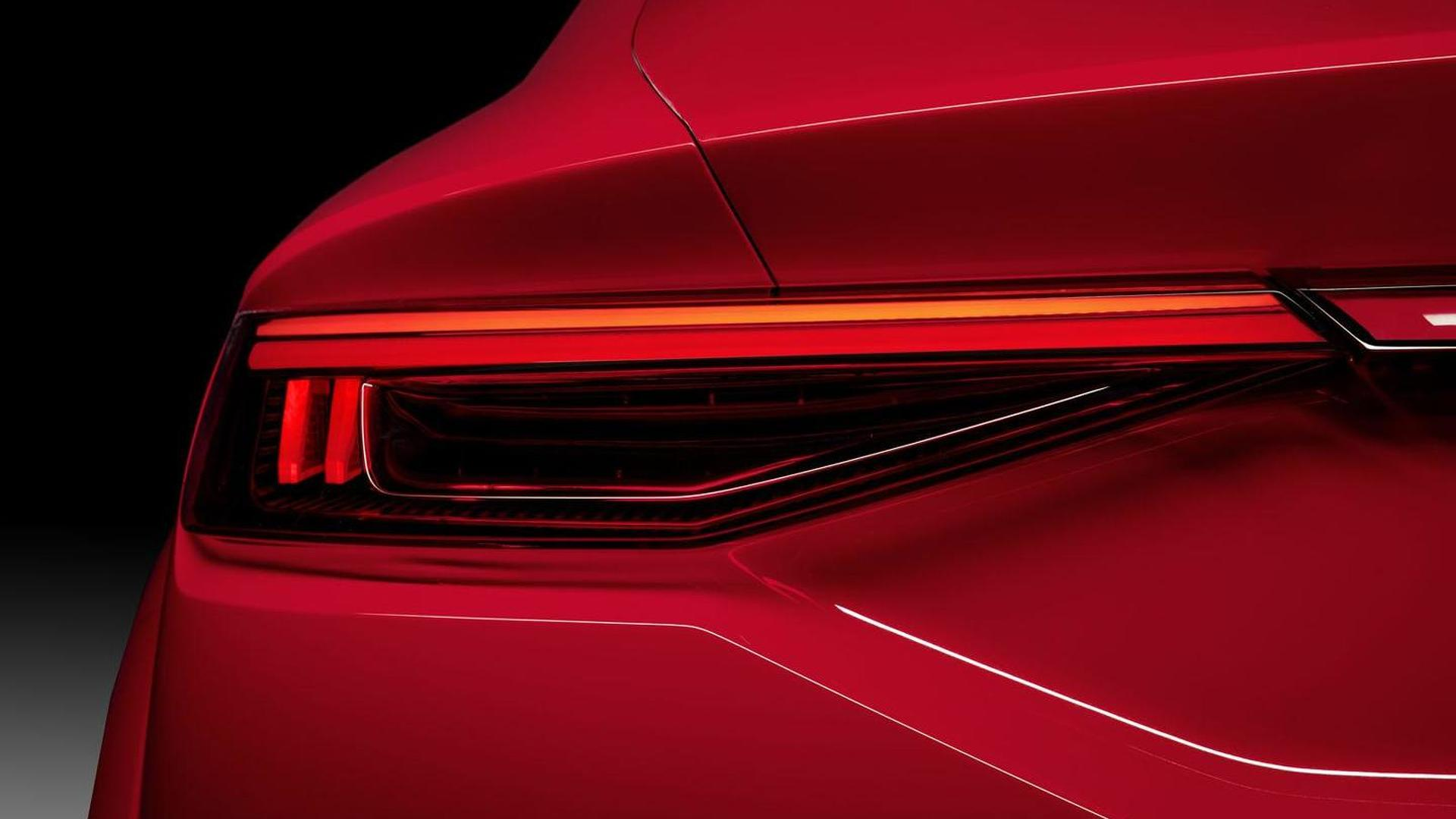 Задний фонарь Audi TT Sportback
