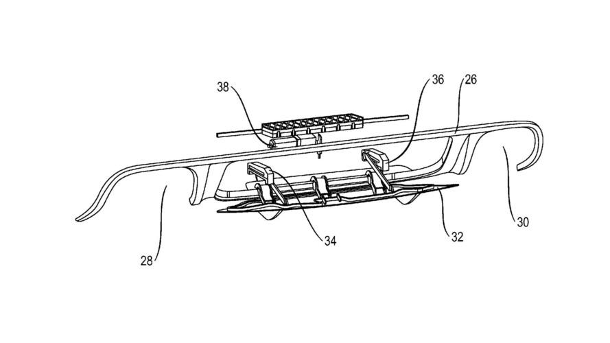 Porsche Adaptif Arka Difüzör patenti