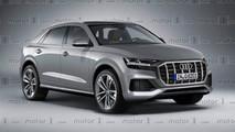 Audi Q8 2019 render