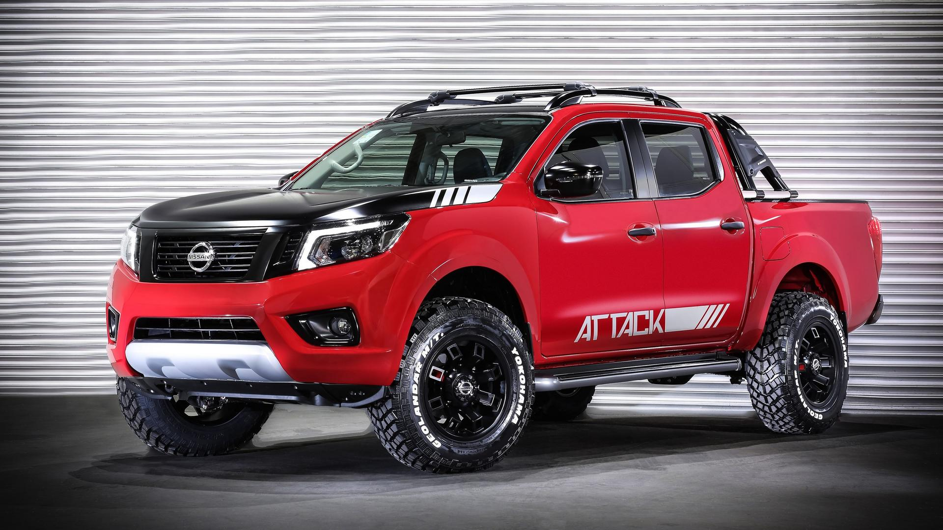 Nissan Frontier Concept Shows Extra Off-Road Prowess
