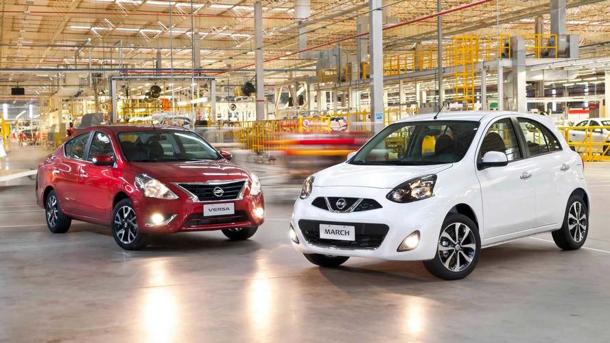 Nissan March e Versa ficam mais caros em maio; veja preços