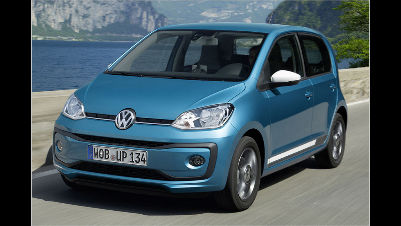 VW Up 1.0, 60 PS: 9.850 Euro