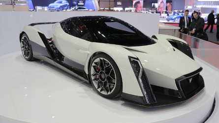 6 cars making over 1,000 hp debuted in Geneva