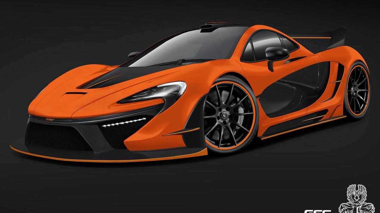 McLaren P1 Night Glow by German Special Customs