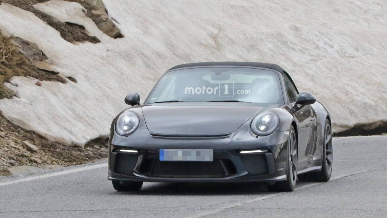 Porsche 911 Prototype Looks Like A Gt3 Touring Cabrio But Is It