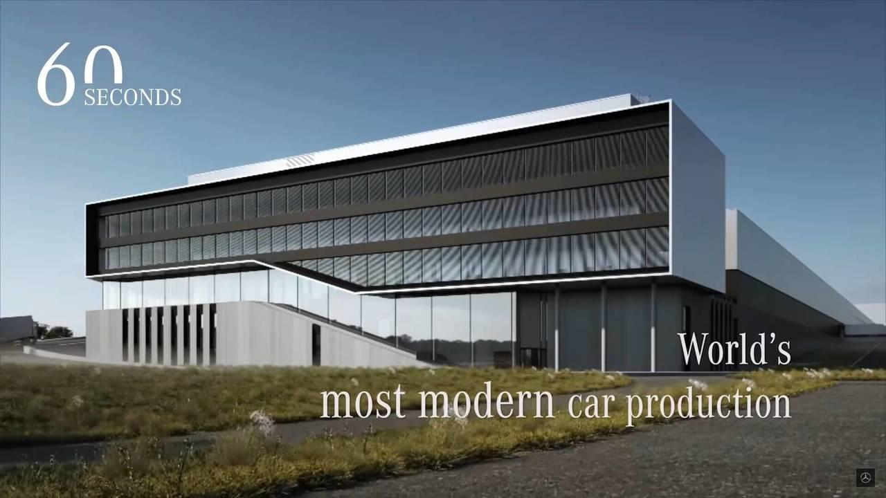 Mercedes-Benz Factory 56 Construction