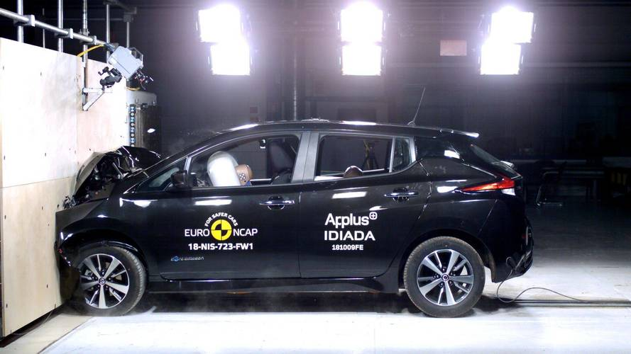 New Nissan Leaf Achieves 5-Star Rating In Euro NCAP Crash Tests