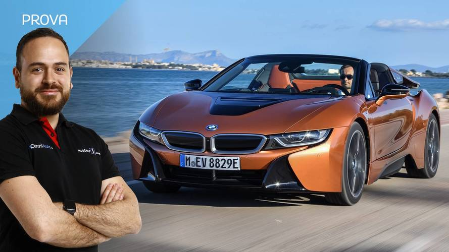 BMW i8 Roadster, spirito ibrido
