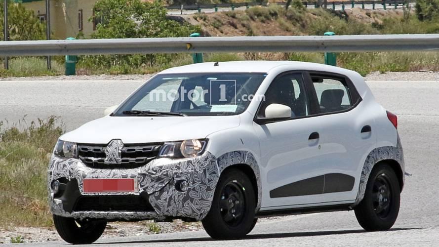Renault Kwid reestilizado - Flagra