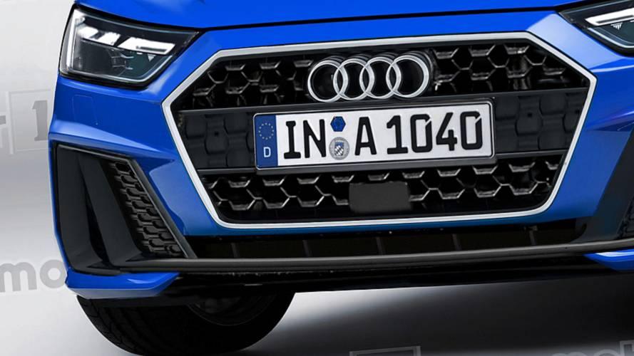 New Audi A1 Sportback rendered