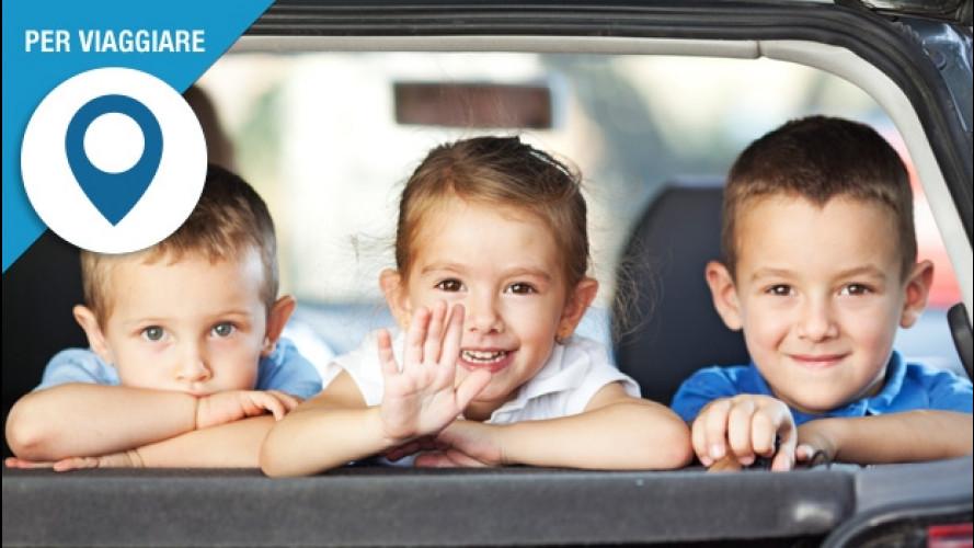 In auto con i bambini, i