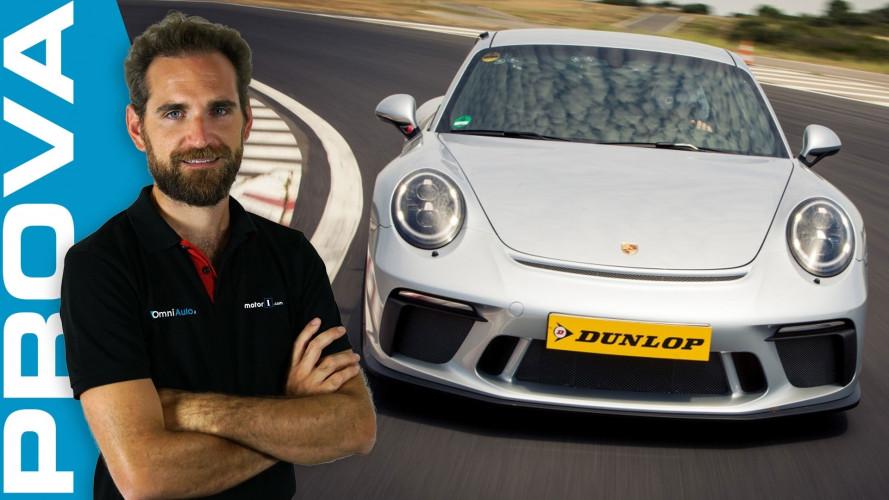 Porsche 911 GT3 in pista con le Sport Maxx Race 2 [VIDEO]