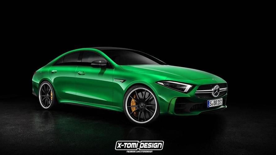 2019 Mercedes-Benz CLS renderings