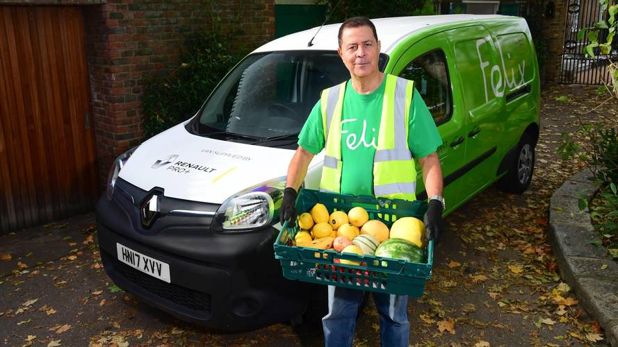 London food project using electric Renault