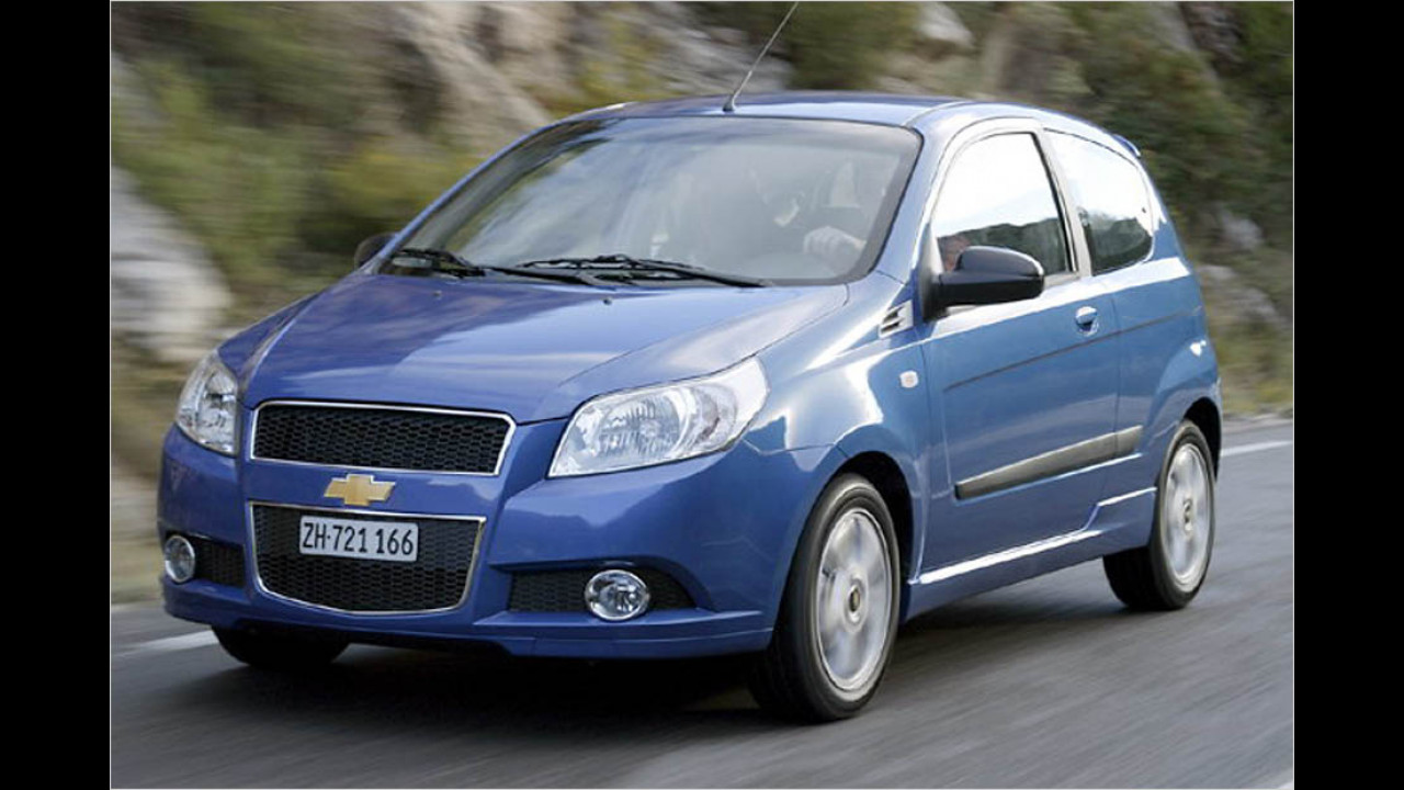 Die schlechtesten Autos bis 9 Jahre: Chevrolet Aveo