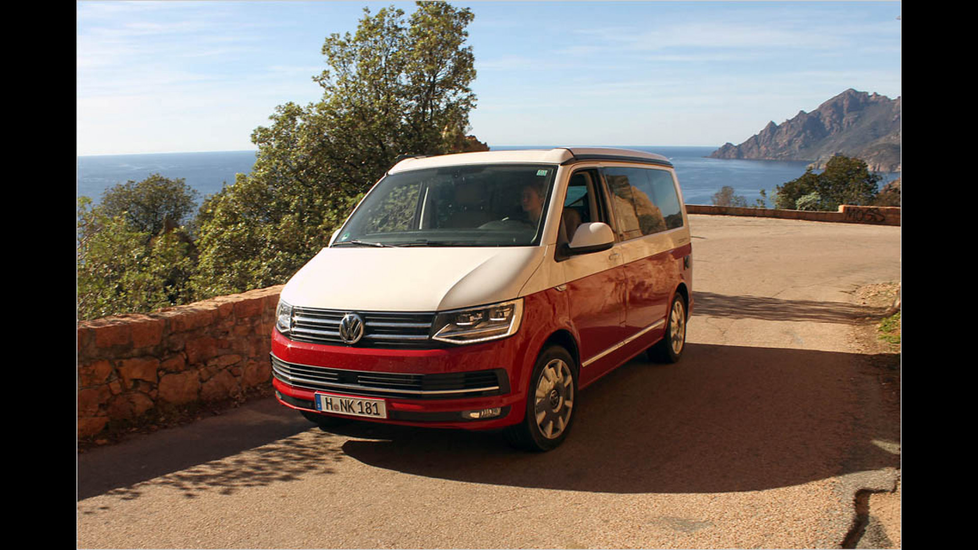 Im Test: VW California Ocean ,Red\