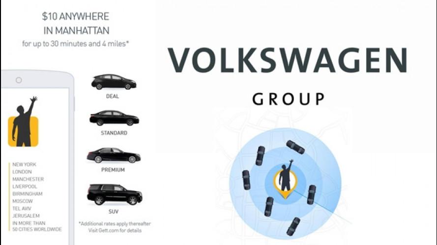 Il Gruppo Volkswagen investe nella mobilità on-demand