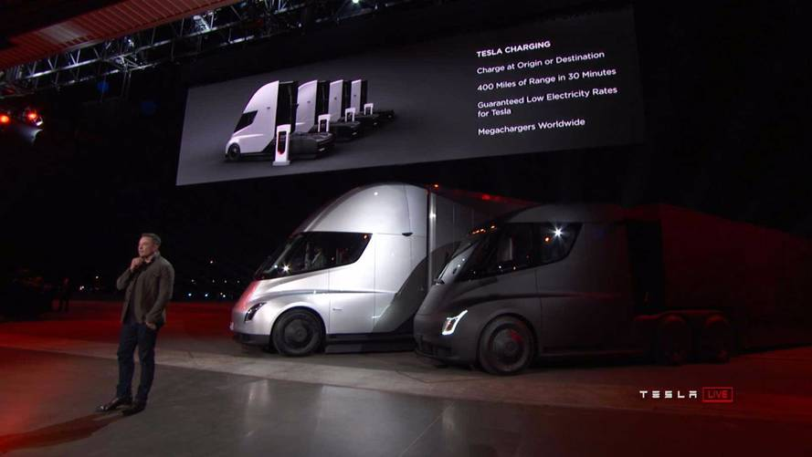 Limited Range Forces Trucking Company To Rule Out Tesla Semi