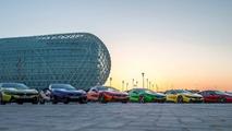 Renkli BMW i8ler