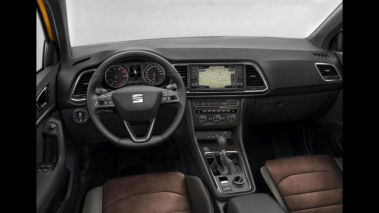 Seat Ateca: primeiro SUV da marca é revelado em fotos oficiais vazadas