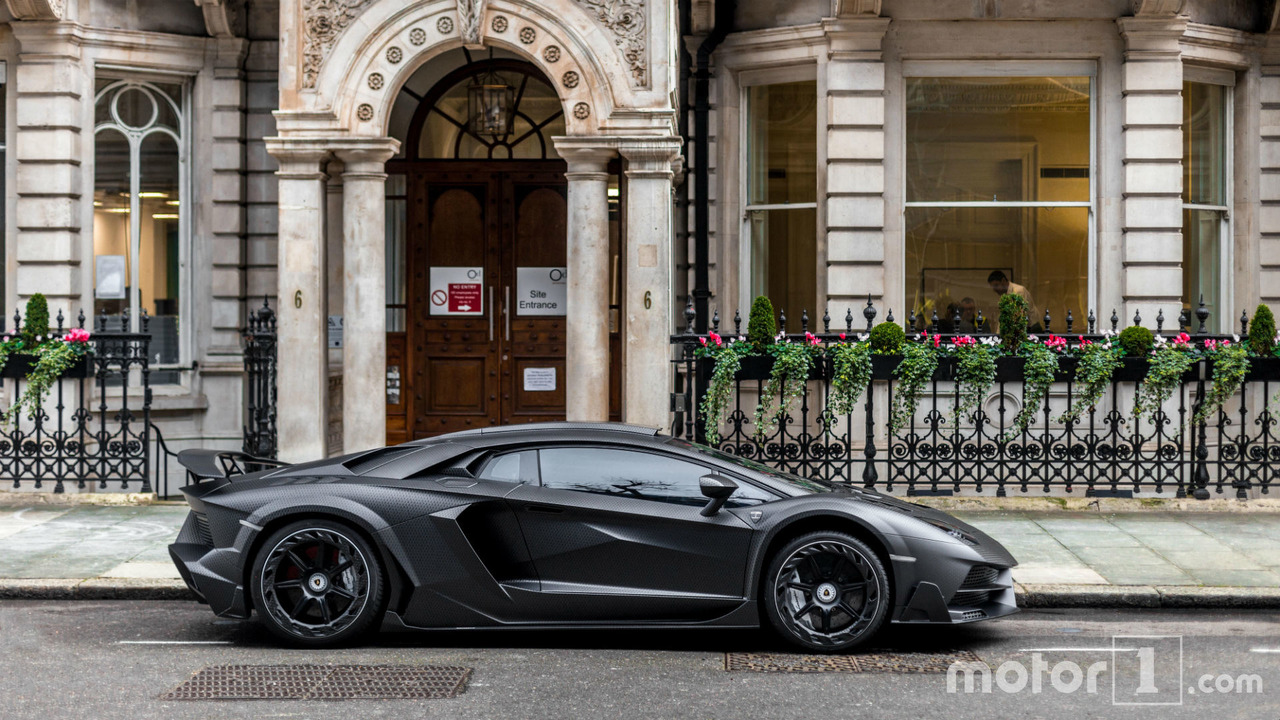 Photos exclusives de la Lamborghini JS1 Edition