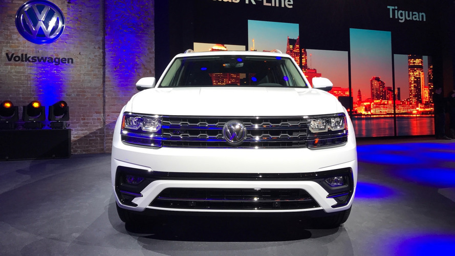 2018 volkswagen r line. Fine Volkswagen 2018 Volkswagen Atlas RLine Detroit 2017 Intended Volkswagen R Line