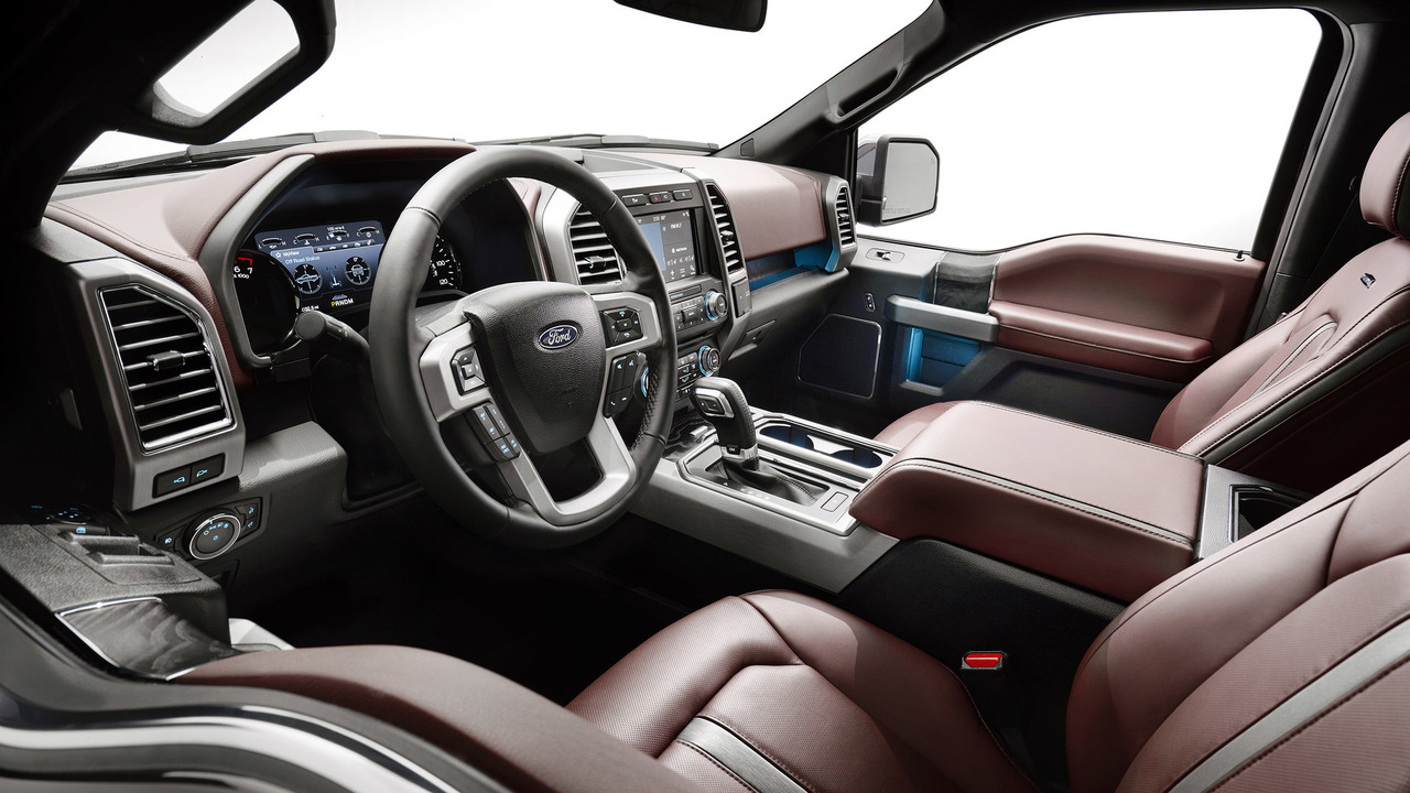 2018 ford f 150 debuts with fresh face diesel power. Black Bedroom Furniture Sets. Home Design Ideas