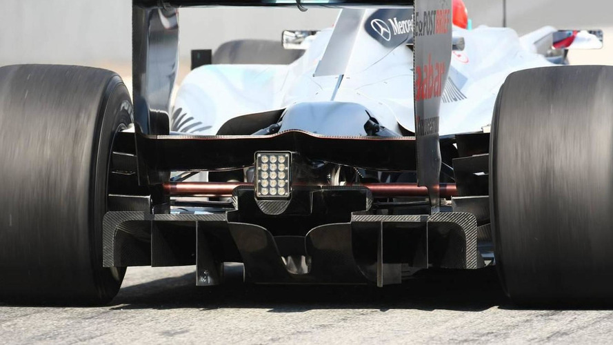 Mercedes waiting on space-age material for blown exhaust