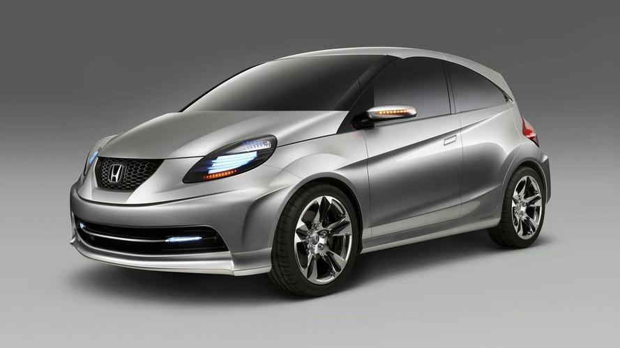 Honda New Small Concept Debuts in New Delhi
