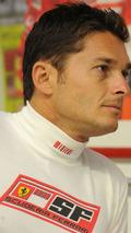 Giancarlo Fisichella F60 fitting and orientation at Ferrari