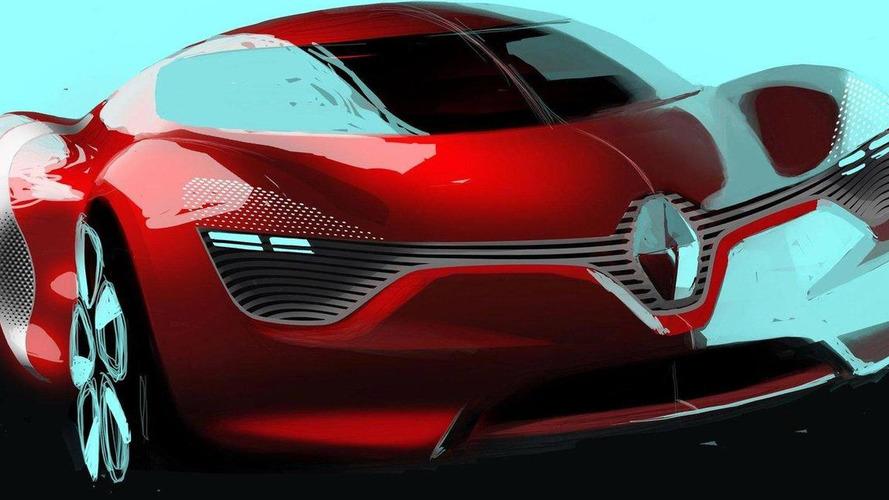 Renault Concept DeZir debuts in Paris