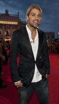David Garrett at Life Ball MINI charity event at Vienna city hall 19.07.2010