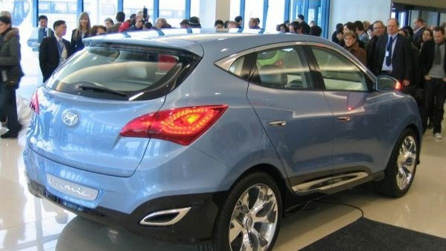 Hyundai ix-ONIC HED-6 Concept Live Photos