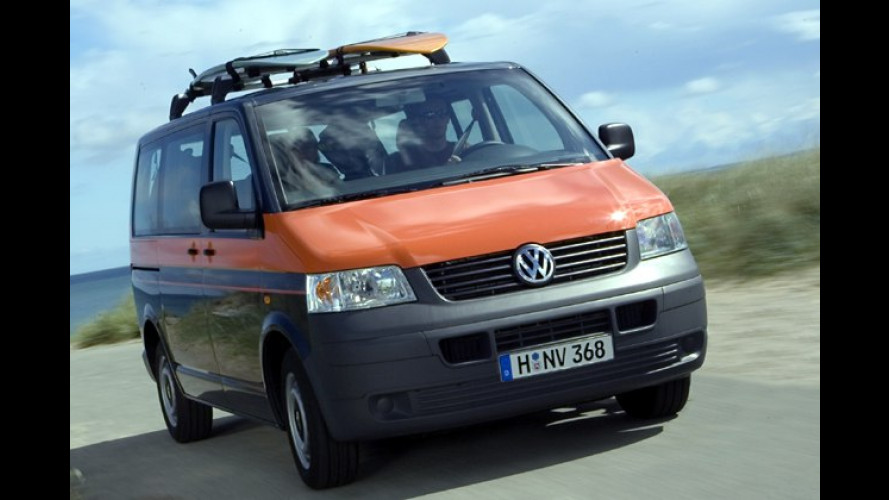 Premieren für Reisefans: Multivan Beach und Caddy Tramper