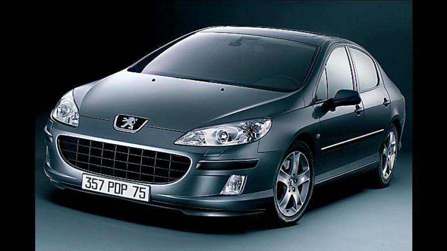 Automatik für die V6-Modelle: Peugeot lässt schalten