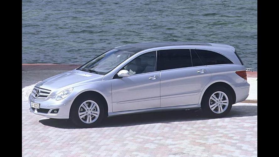 Mercedes R-Klasse: Der Allrad-Van kommt Anfang 2006