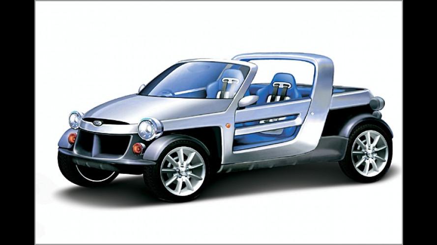 Daihatsu-Studien: Vom Strandbuggy bis zum Spritsparmobil