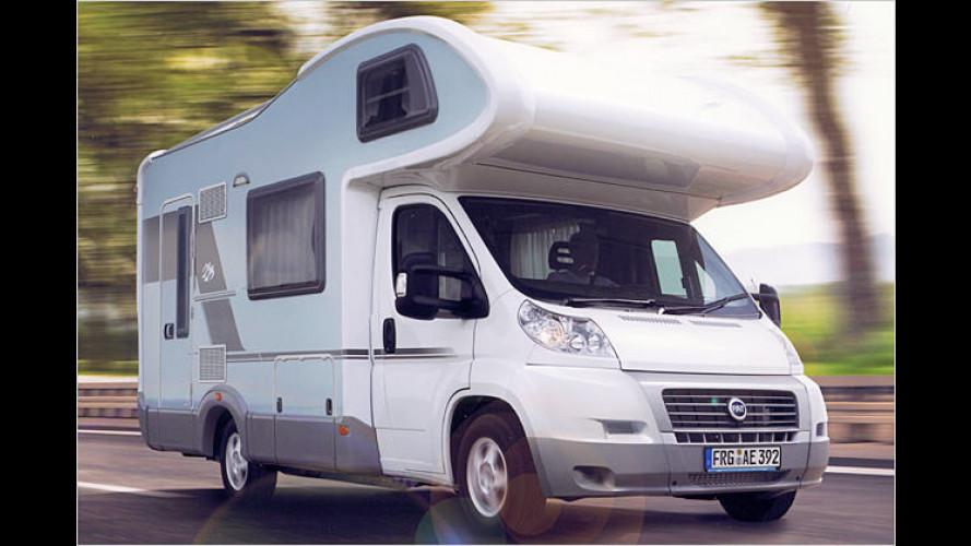 Fiat Ducato: Wohnmobile auf Basis des neuen Transporters