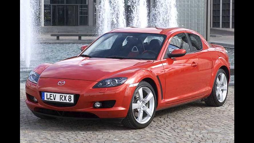 Mazda RX-8: Modellpflege für den Wankelmotor-Sportwagen