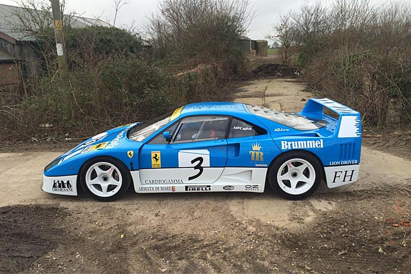 Watch a Million-Dollar Ferrari F40 Drift Around a Farm