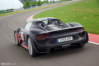 Porsche Drops More Details on 918 Spyder
