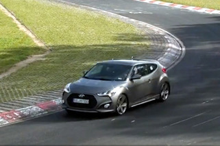 Video: Hyundai Veloster Turbo Goes H.A.M. on Nurburgring