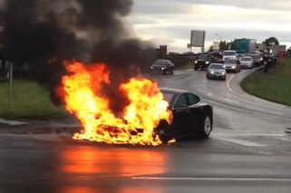 Tesla Model S Fire Causes $600 Million Drop in Company Value [w/video]