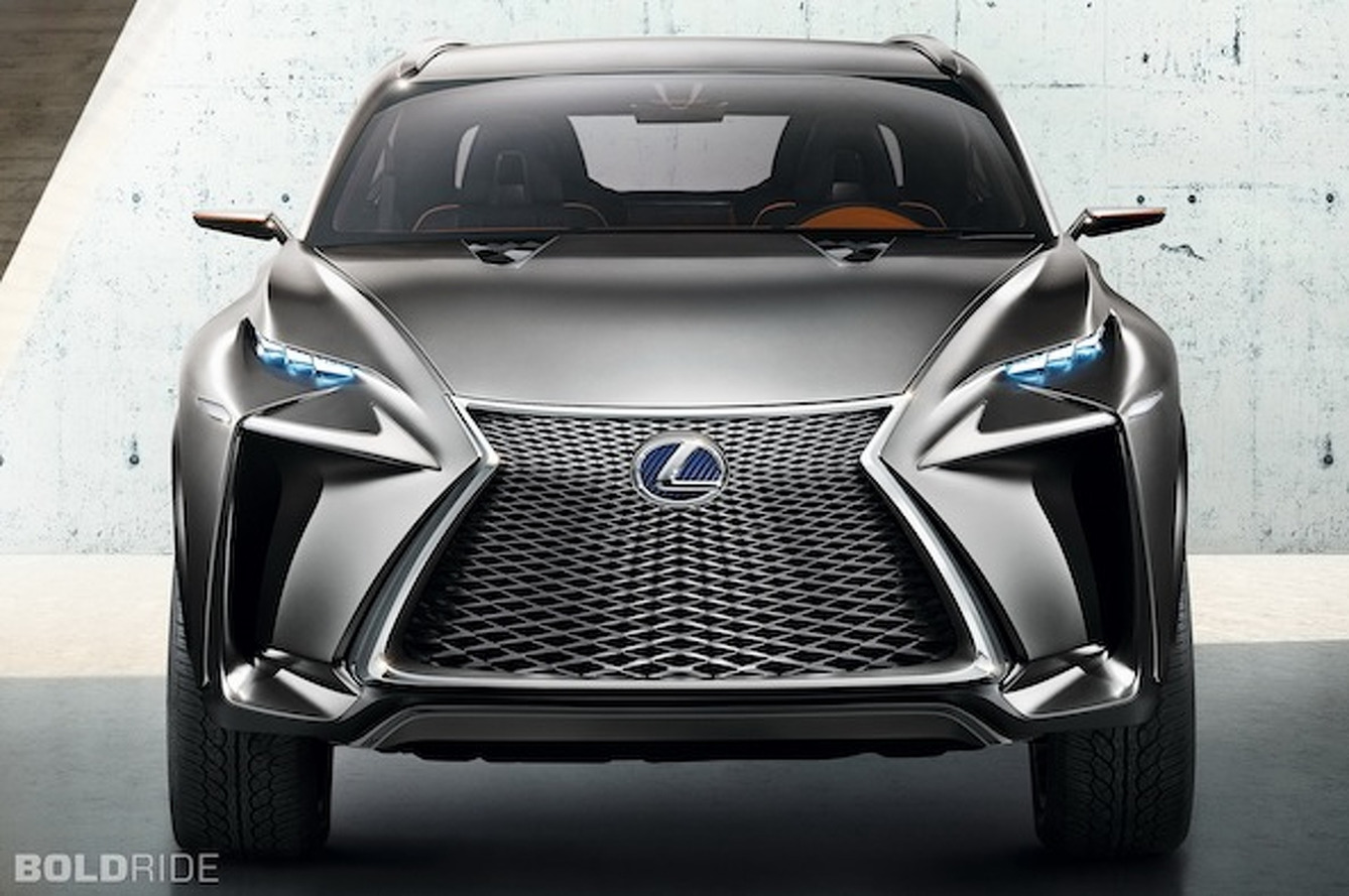 The Lexus LF-NX Concept: A City-Dwelling SUV of the Future