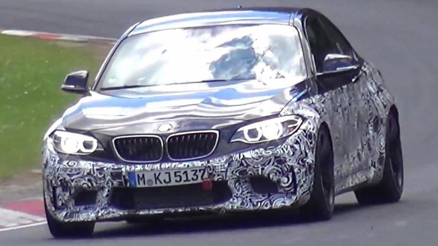 BMW M2 caught on camera stretching out on the 'Ring [video]