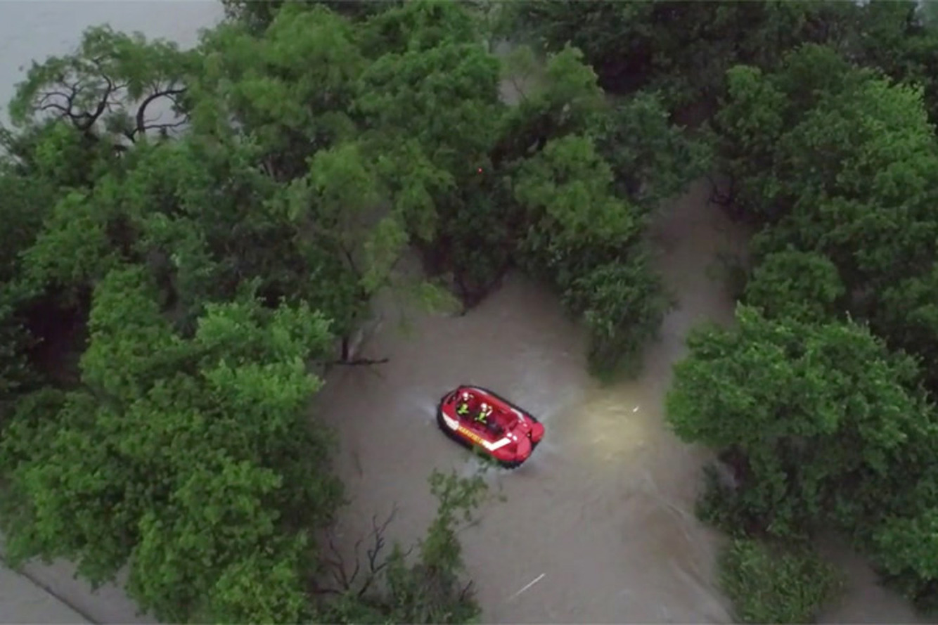 A Drone Rescued Four People During a Texas Flood