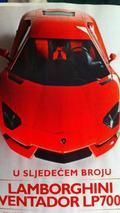 Lamborghini LP700-4 Aventador leaked magazine photo, 1600 - 22.02.2011