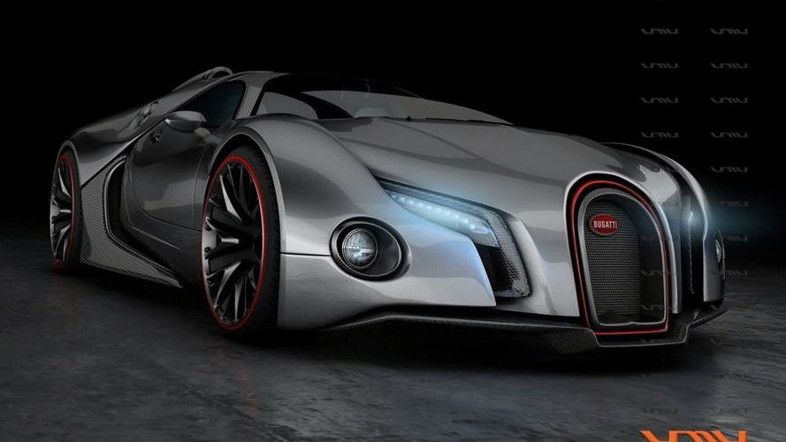 Bugatti Renaissance Student Design Reinterprets Veyron