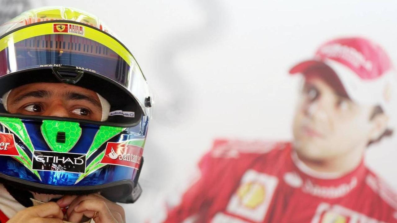 Felipe Massa (BRA), Scuderia Ferrari, British Grand Prix, Friday Practice, 09.07.2010 Silverstone, England