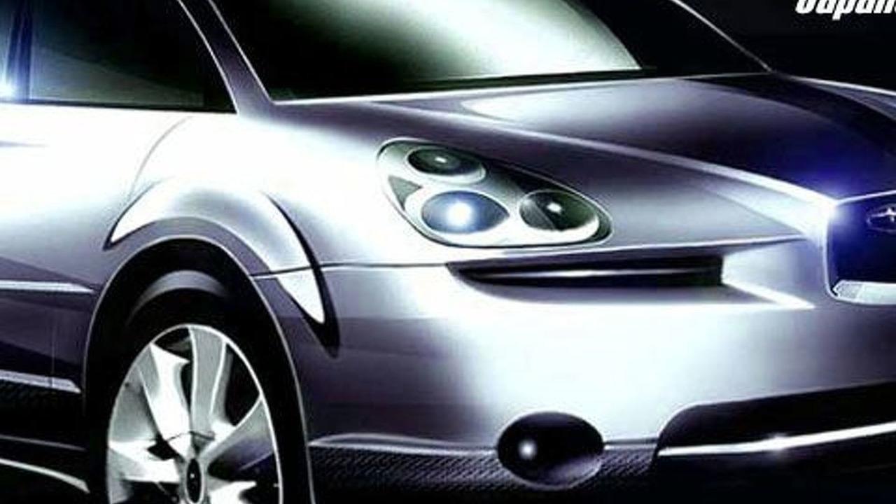 Subaru B9X concept